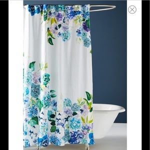 ANTHROPOLOGIE Pansies Shower Curtain